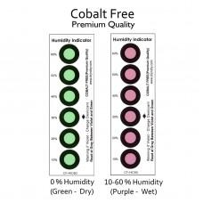 Tarjetas Indicadoras De Humedad (Libre De Cobalto)