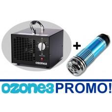 PROMOCION Generador De Ozono Industrial Y Comercial Ozonizador + OBSEQUIO Purificador de Auto